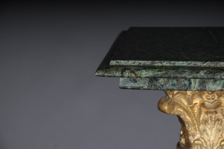 20th Century Marble Pillar/Column in Louis XV Style For Sale 1