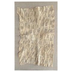 20th Century Mbuti Pygmy Barkcloth Textile