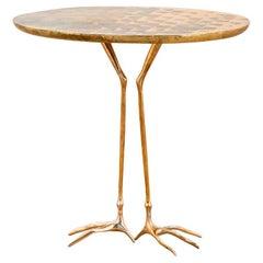 20th Century Meret Oppenheim Traccia Side Table by Simon Gavina Golden '70s