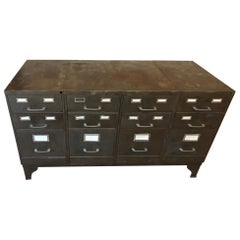 20th Century Metal French Tolix Industrial Buffet, 1940s