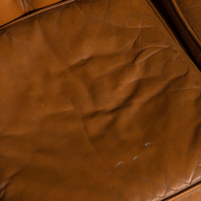 20th Century Miniature Chesterfield Leather Sofa, circa 1920 11