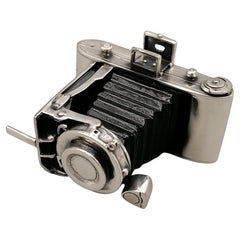 20th Century Miniature in Sterling Silver of Camera
