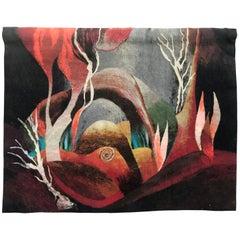 20th Century Modern Tapestry