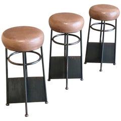 20th Century Modernist Bar Stools