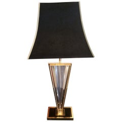 20th Century Modernist French Table Lamp
