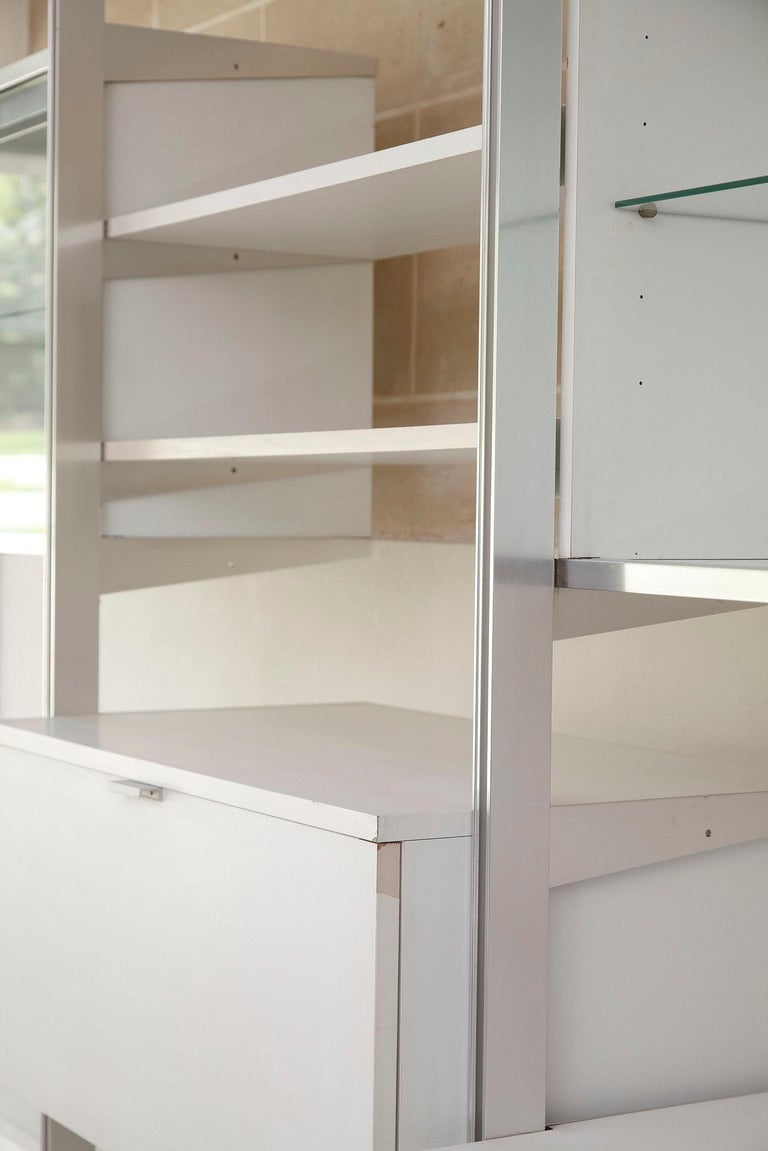20th Century Modular Wall Unit in Mobilier International Style For Sale 3