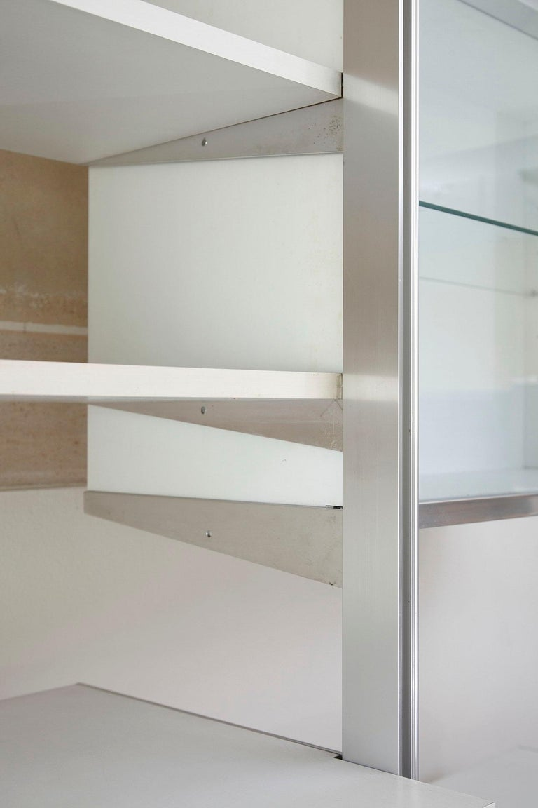 20th Century Modular Wall Unit in Mobilier International Style For Sale 6
