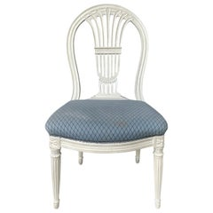 20th Century Montgolfier Balloon Back Chair, Possibly Maison Jansen