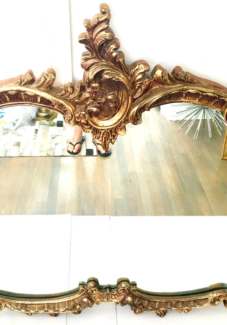 20th Century Monumental French Baroque Style Ornate Gold
