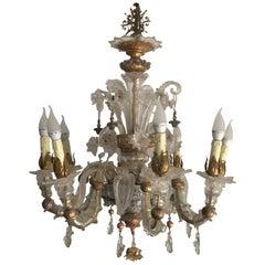 20th Century Murano Art Glass Ceiling Lamp