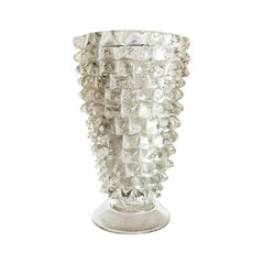 20th Century Murano Flower Vase by Paolo Venini
