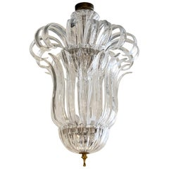 20th Century Murano Glass Chandelier by Barovier & Toso