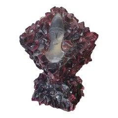 20th Century Murano Glass Sculpture by Pino Signoretto Vintage
