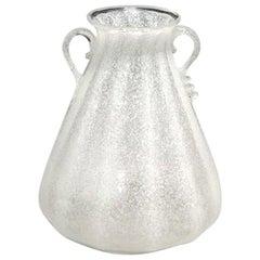 20th Century Murano Glass Vase, Italian Table Decor by Seguso Vetri D'Arte
