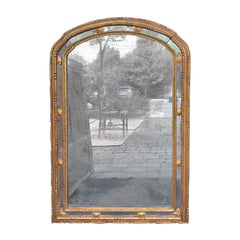 20th Century Neoclassical Giltwood Mirror