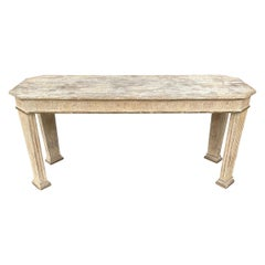 20th Century Neoclassical Style Console Table