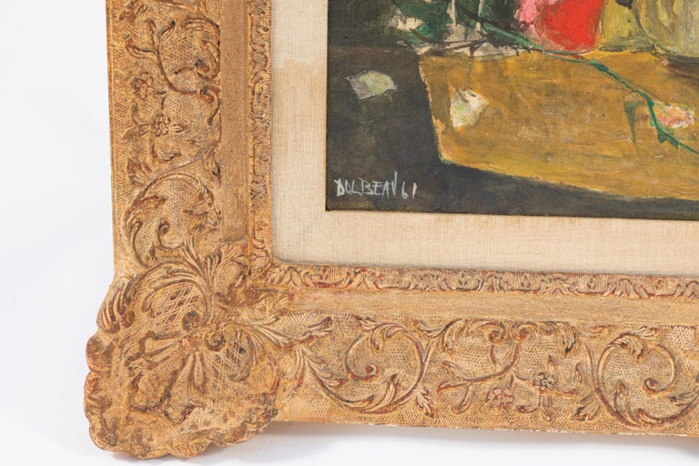20th Century Oil Painting by French Artist Dolbeau For Sale 4