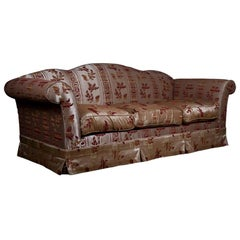 20th Century Original Club Sofa in English Style