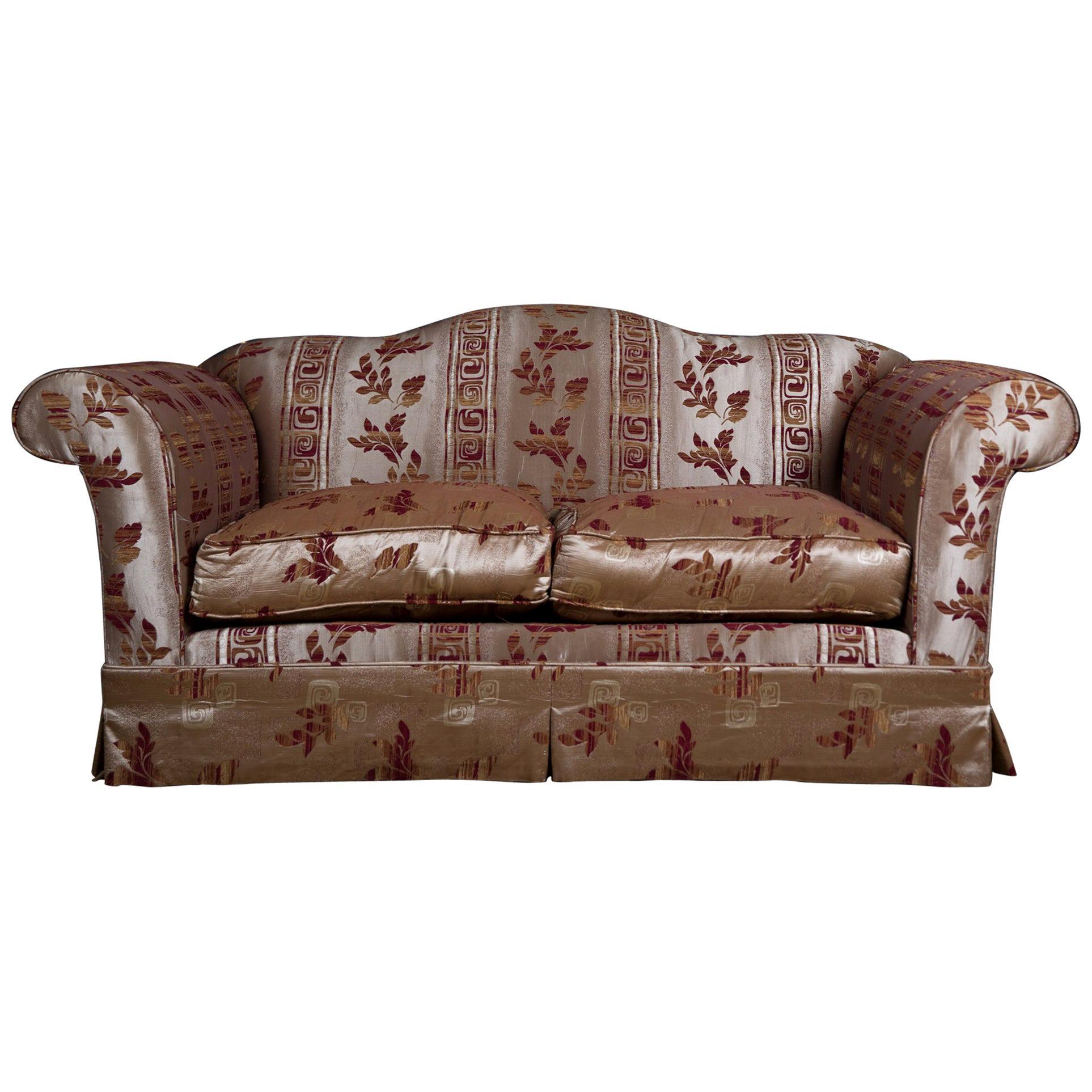 20th Century Original Club Sofa in English Style Two Seats