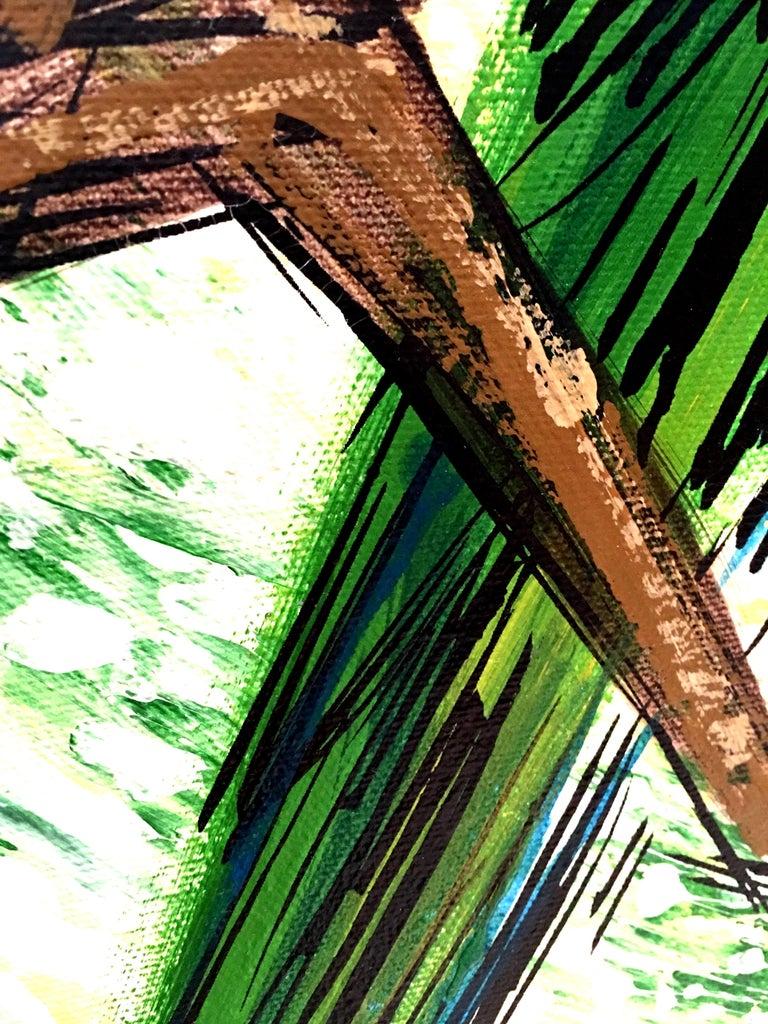 20th Century Original Oil on Canvas Painting,