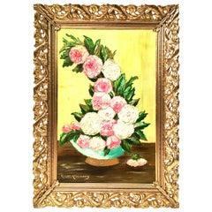20th Century Original Oil on Canvas Painting by, Clara McKinney