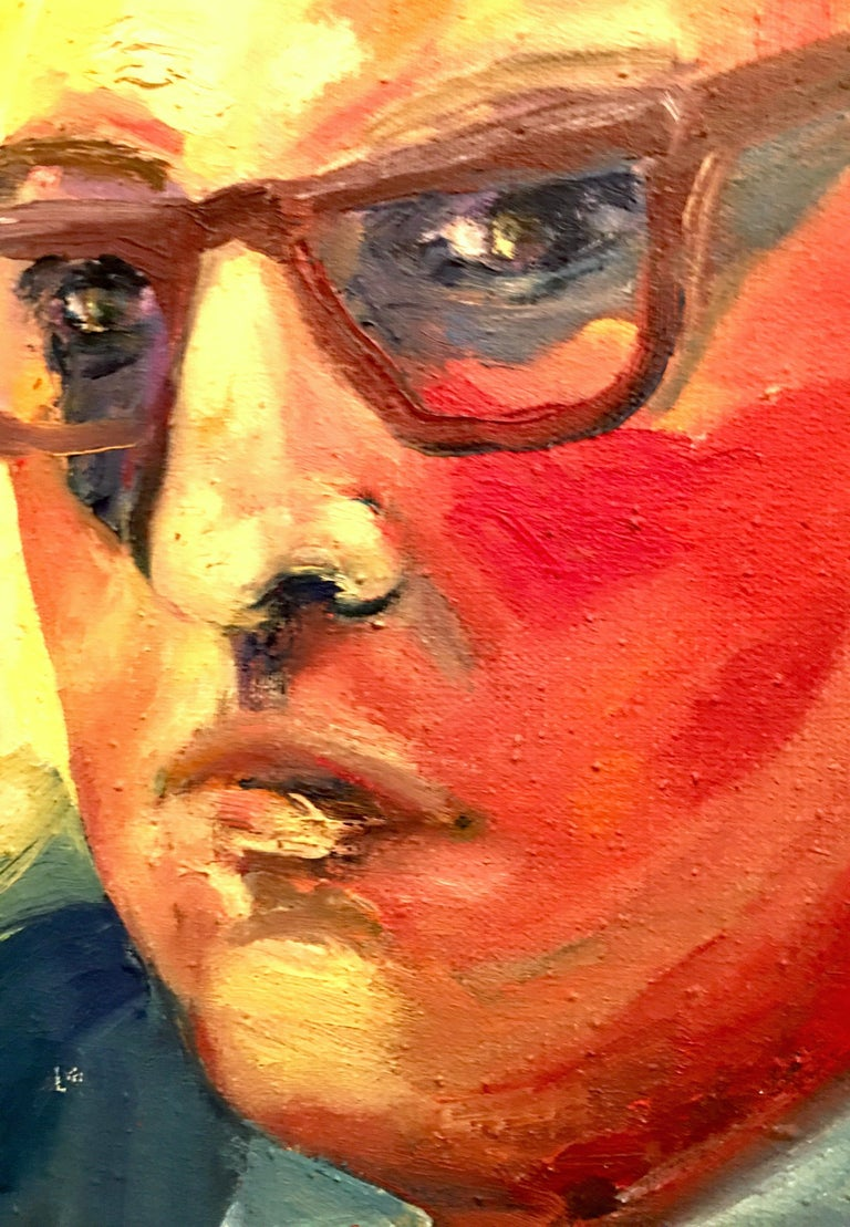 20th Century Original Oil On Canvas Painting by, M. Reno For Sale 1