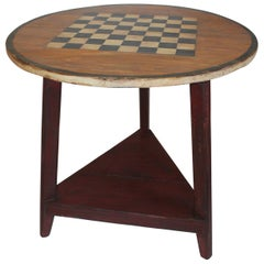 20th Century Painted Gaming Table from Maine