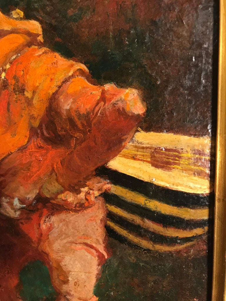 20th Century Painting by Gustav Ohm In Good Condition For Sale In Belmont, MA