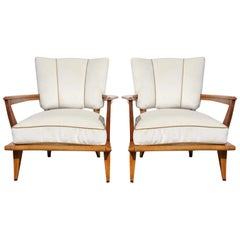 20th Century Pair of Armchairs by Etienne-Henri Martin