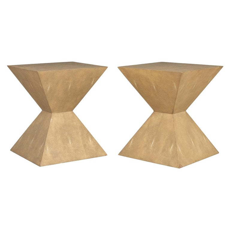 20th Century Pair of Art Deco Inspired Side Tables by Julian Chichester For Sale
