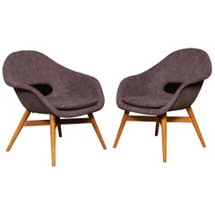 20th Century Pair of Brussels Expo Chairs, c.1950