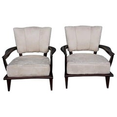 20th Century Pair of Fauteuils by Etienne-Henri Martin