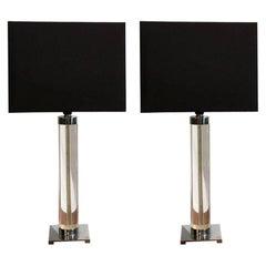 20th Century Pair of Hansen Table Lamps