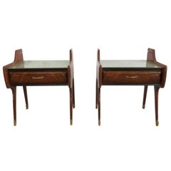 20th Century Pair of Italian Nightstands by Paolo Buffa