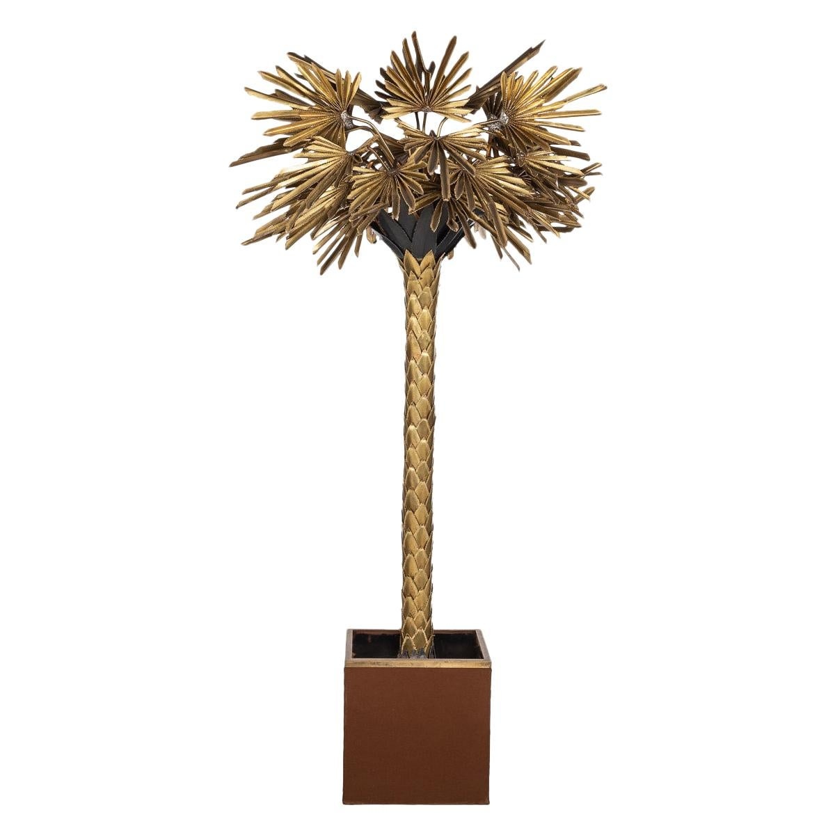 20th Century Palm Tree Floor Lamp by Maison Jansen, France, circa 1970