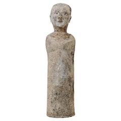 """20th Century Papier-Mâché Statue """"homo erectus"""""""
