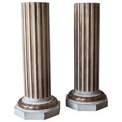 20th Century Pedestals in Gustavian Style