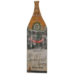 20th Century Perrier Jouet Champagne Trade Sign