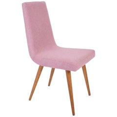 20th Century Pink Mélange Rajmund Halas Chair, 1960s
