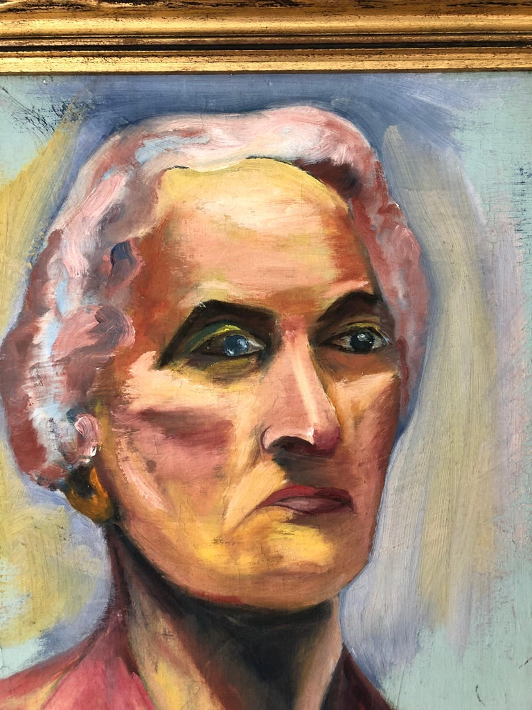 Unknown 20th Century Portrait of a Woman For Sale