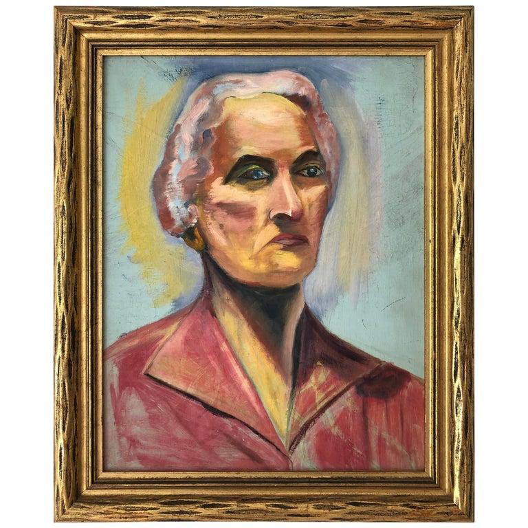 20th Century Portrait of a Woman For Sale