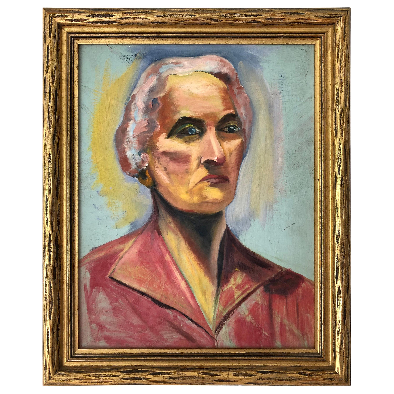 20th Century Portrait of a Woman