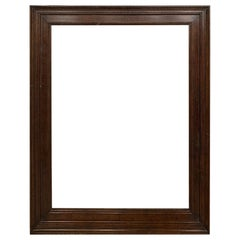 20th Century Rectangular Walnut Frame