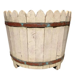 20th Century Regency Style Large Wooden Container