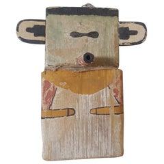 20th Century child's Hopi Kachina Doll, Handmade and Painted Cottonwood
