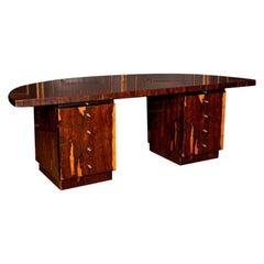 20th Century Representative Monumental Art Deco Desk #3