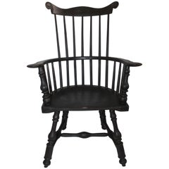 20th Century Reproduction of an 18th Century Butterfly Windsor Chair