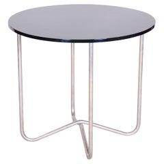 20th Century Restored Chrome Small Bauhaus Table, Hynek Gottwald, 1940s
