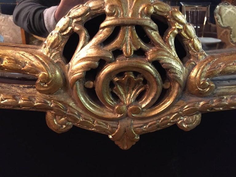 20th Century Rococo Wall-Mirror For Sale 6