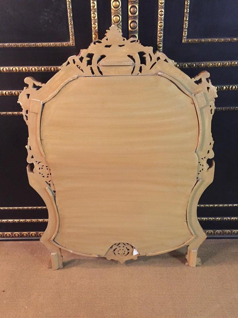 20th Century Rococo Wall-Mirror For Sale 14